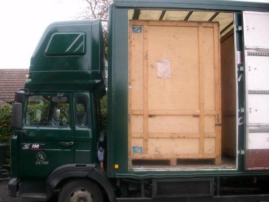 Truck at Hobbs